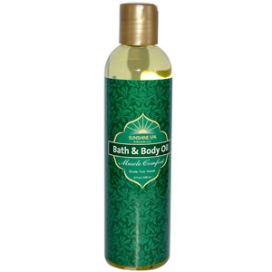 Sunshine Spa Body Oil, Muscle Comfort