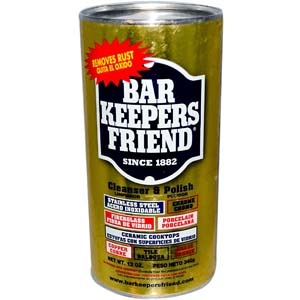 Bar Keepers Friend, Cleanser Polish