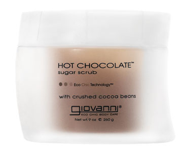 Giovanni, Hot Chocolate, Sugar Scrub