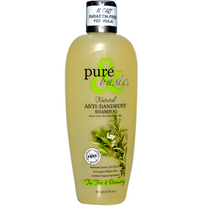 Pure & Basic, Natural Anti-Dandruff Shampoo