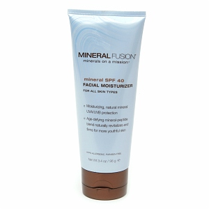 Mineral Fusion, Mineral SPF 40 Facial Moisturizer, For All Skin types