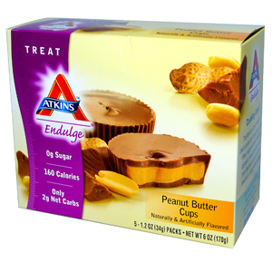 Atkins, Endulge, Peanut Butter Cups