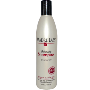 Madre Labs, Balancing Shampoo, Pomegranate & Mellow Mint, For Normal Hair