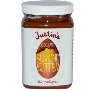 Justin's Nut Butter, Chocolate Almond Butter