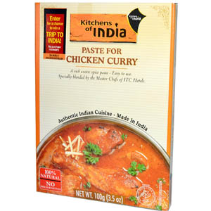 Kitchens of India, Paste for Chicken Curry