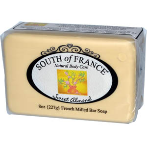 South of France, Sweet Almond, French Milled Bar Soap