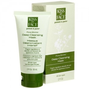 Kiss My Face, Potent & Pure, Pore Shrink, Deep Cleansing Mask