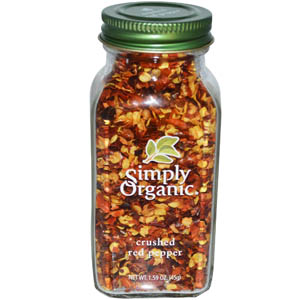 Simply Organic, Crushed Red Pepper