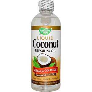 Nature's Way, Liquid Coconut, Premium Oil