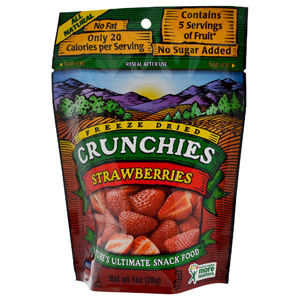 Freeze Dried Crunchies, Strawberries