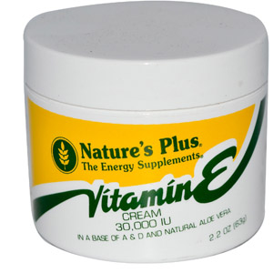Nature's Plus, Vitamin E Cream