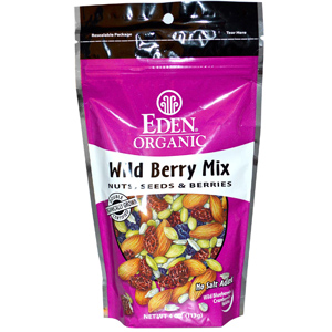 Eden Foods, Organic, Wild Berry Mix, Nuts, Seeds Berries на айхербе