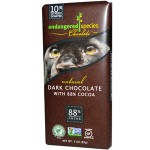 Endangered Species Chocolate, Natural Dark Chocolate