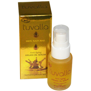 L'uvalla Certified Organic, Argan Oil Serum, Anti-Aging