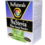 NuNaturals, NuStevia, White Stevia Powder, 100 Packets
