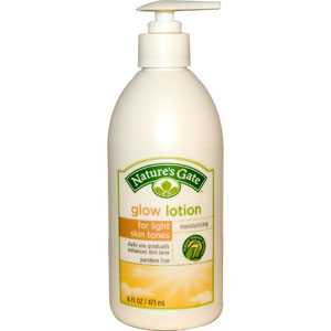 Nature's Gate, Glow Lotion, Moisturizing, For Medium Skin Tones