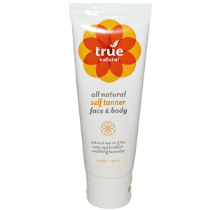 True Natural, All Natural Self Tanner