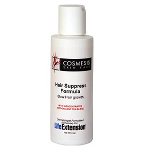 Life Extension, Cosmesis Skin Care, Hair Suppress Formula
