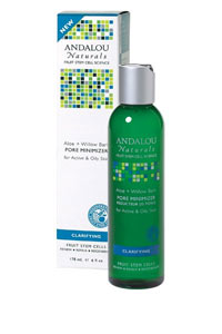 Andalou Naturals, Pore Minimizer, Aloe Willow Bark