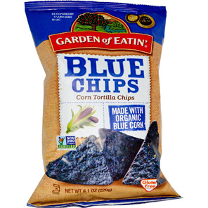 Garden of Eatin', Corn Tortilla Chips, Blue Chips