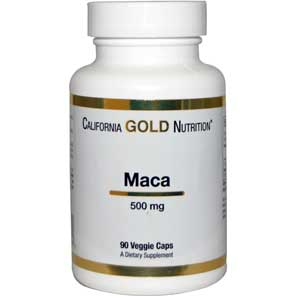 California Gold Nutrition, Organic Maca, 500 mg, 90 Veggie Caps