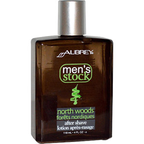 Aubrey Organics, Men's Stock, North Woods After Shave, Classic Pine, 4 fl oz (118 ml)