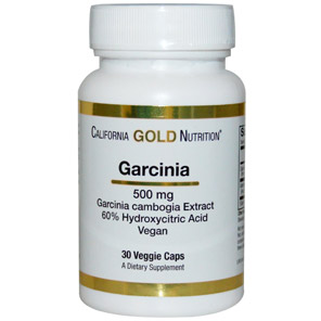 California-Gold-Nutrition,-Garcinia-Cambogia,-500-mg,-30-Veggie-Caps