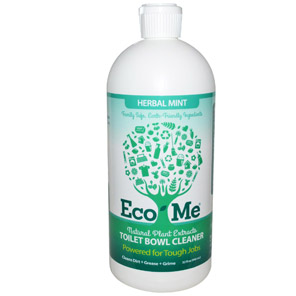 Eco-Me, Inc., Toilet Bowl Cleaner, Herbal Mint, 32 fl oz (946 ml)
