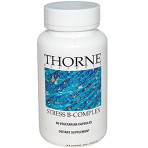 Thorne Research, Stress B-Complex, 60 Veggie Caps