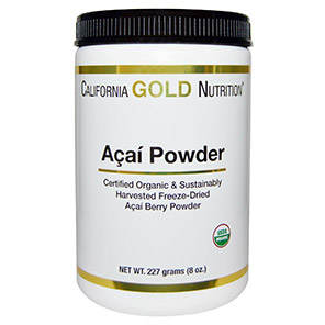 California Gold Nutrition, Organic Acai Powder, 8 oz (227 g)