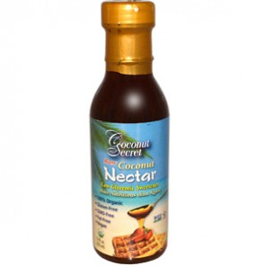 Coconut Secret, Raw Coconut Nectar, Low Glycemic Sweetener с iherb.com