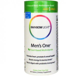 Rainbow Light, Just Once, Mens One, Food-Based, Multivitamin на iherb.com