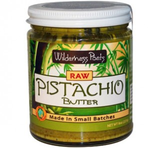 Wilderness Poets, Raw Pistachio Butter с iherb.com