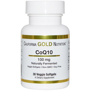 California Gold Nutrition, CoQ10, Naturally Fermented