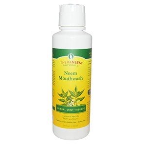 Organix South, TheraNeem Naturals, Neem Mouthwash, Herbal Mint Therape, 16 fl oz (480 ml)