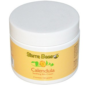 Sierra Bees, Calendula, Soothing Skin Cream with Manuka Honey, 2 oz (60 g)