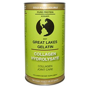 Great Lakes Gelatin Co., Collagen Hydrolysate, Beef, 16 oz (454 g)