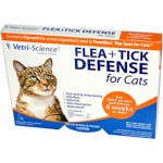 21st Century Health Care, Flea + Tick Defense for Cats 8 Weeks or Older, 3 Applicators
