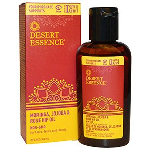 Desert Essence, Moringa, Jojoba & Rose Hip Oil