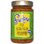 Frontera, Gourmet Mexican Salsa, Medium, Jalapeño Cilantro, 16 oz (454 g)
